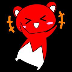 赤クマちゃん♡