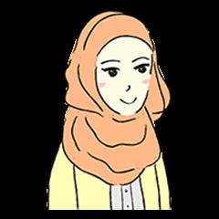Lovely Aesha (Pastel Hijab)