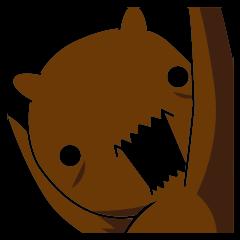 シロとクロときどきクマ