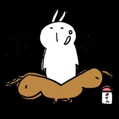温泉うさぎ 夏休み編