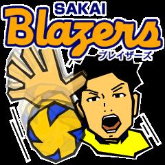 堺ブレイザーズ公式スタンプ 2014-15