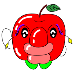 りんご おネエさん