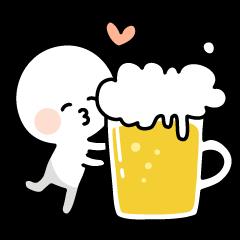 酒飲みさんスタンプ