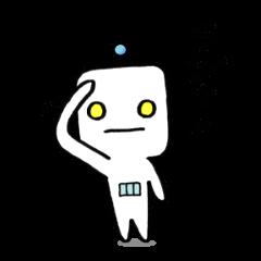 [LINEスタンプ] やわロボ (1)