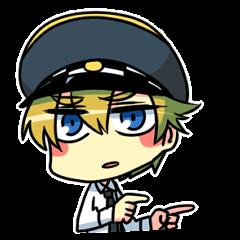 警察官スタンプ