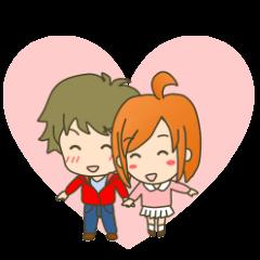 LoveLoveスタンプ(彼女編)