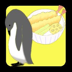 やさぐれペンギン