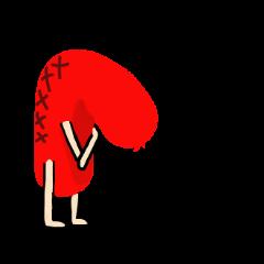 赤いウィンナー