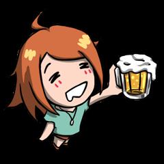 乾杯!リンちゃん