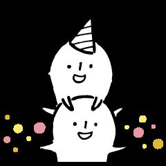 誕生日スタンプ1