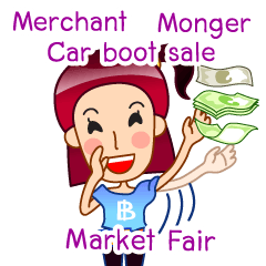 Merchant,Car Boot Sale, Market Fair