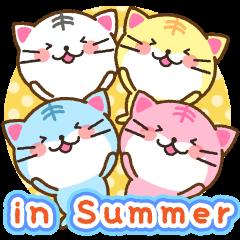 あいさつラムネねこ2 in Summer