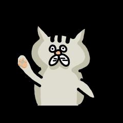 かわいい猫(ねこ)のニャタジロー