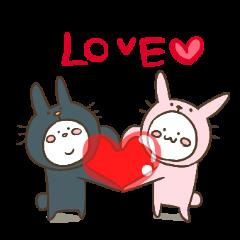うさちん&うさ五郎 Ver.LOVE