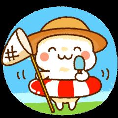 麦わらちゃんの夏