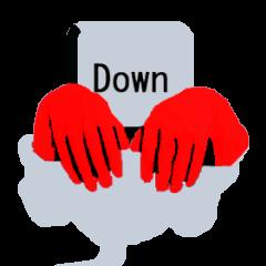 [LINEスタンプ] キーボード ゴーストスタンプ (1)