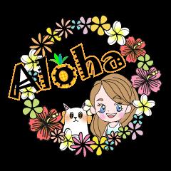 LaniちゃんとKai enjoyハワイ