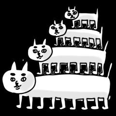 猫ピラミッド