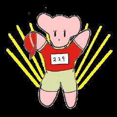 プニちゃん 2(マラソン編)