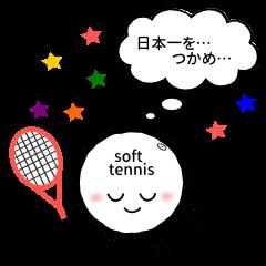 ソフトテニスボールくん