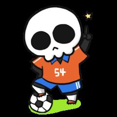 サッカーも大好きポン骨(コツ)くんの日常