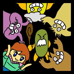 漫画 「森の妖精」