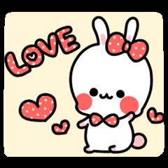 くっきり可愛いウサギ