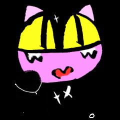 黒猫君は半ノラ暮らし