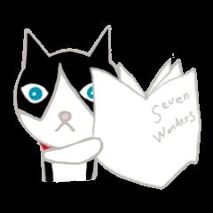 [LINEスタンプ] 飼いネコさんの画像(メイン)