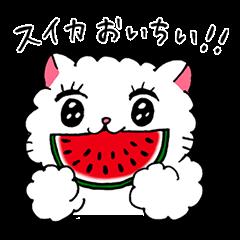 しろねこ あけ美(春・夏)