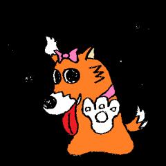 ゆる犬 茶々々の佐賀弁03