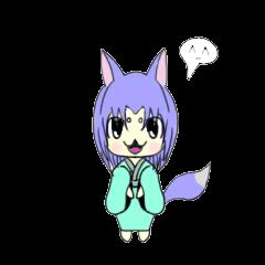 Variety Fox Mustume - small purple