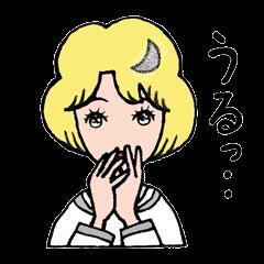 """愛くるしい、""""月ミちゃん""""。 [月より]"""